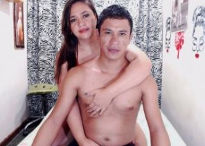 Online chat with  Ebington horny cam female LatinSexyDuo While I'm While you masturbate